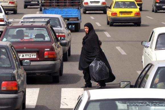A Foto Agência Brasil  - Calle de Teherán, IránMARCELLO CASAL JR