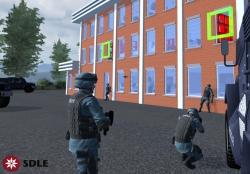 realidad virtual. Entrenamiento UAS. SDLE