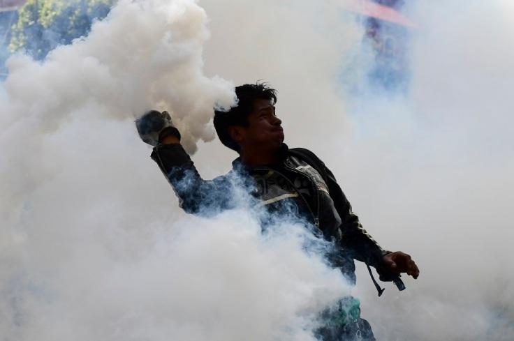 BOLIVIA-CRISIS-PROTEST