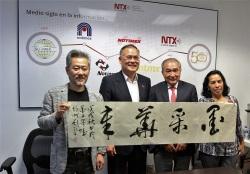 Notimex recibe a delegación de China