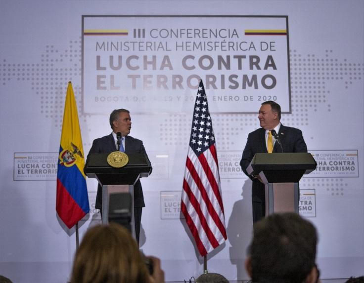 3rd Hemispheric Anti - Terrorism Ministerial Conference In Bogota