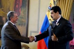 VENEZUELA-RUSSIA-ENERGY-MADURO-SECHIN