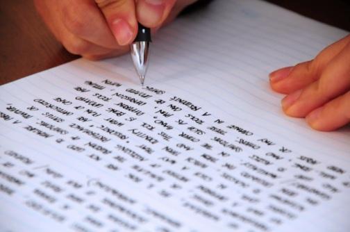 La escritura a mano indica rasgos de la personalidad grafología