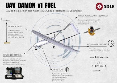 Damon especificaciones