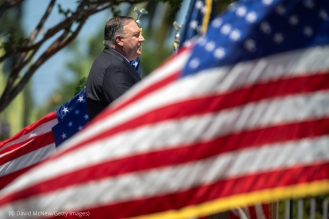 Secretary Of State Pompeo Delivers Speech On China At The Richard Nixon Presidential Library